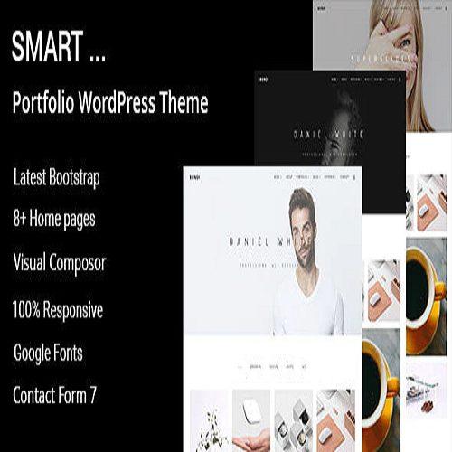 Smart Minimal Portfolio WordPress Theme