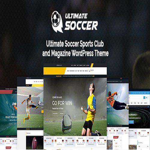 Soccer Club Football Team WordPress Theme