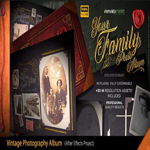 The Vintage Photography Album