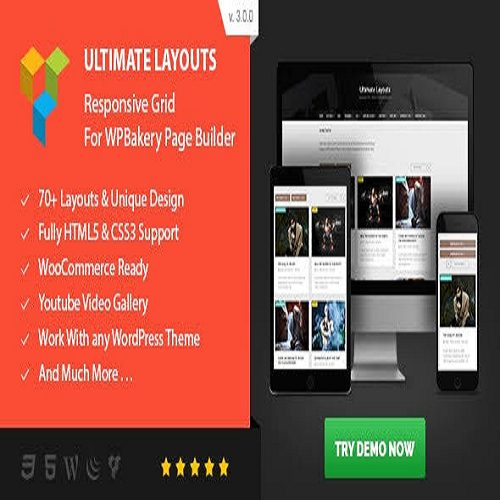 Ultimate Layouts Responsive Grid Youtube Video Gallery Addon For WPBakery Page Builder