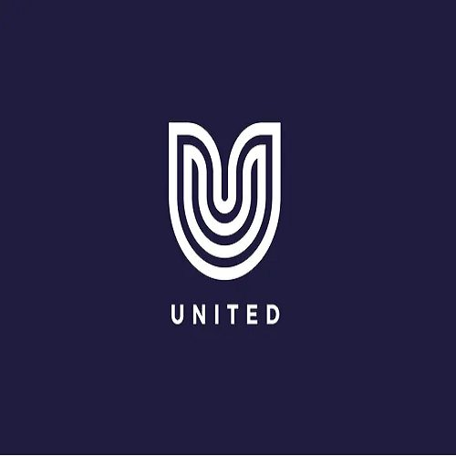 United U Letter Logo Template