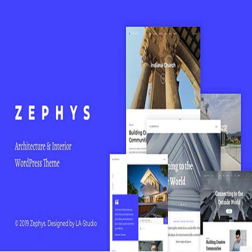 Zephys Architecture Interior WordPress Theme