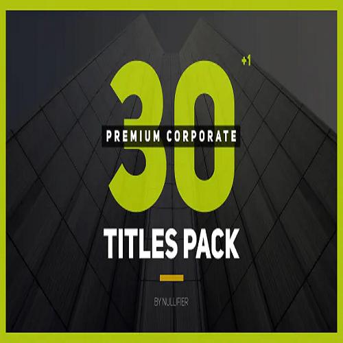 301 Premium Corporate Titles Pack