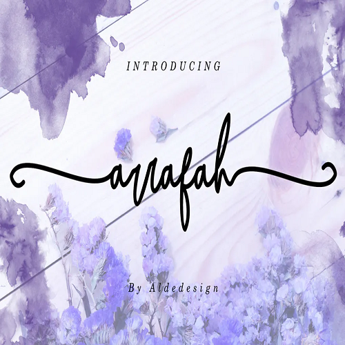 Arrafah Script