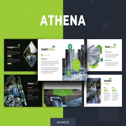 Athena Keynote Template