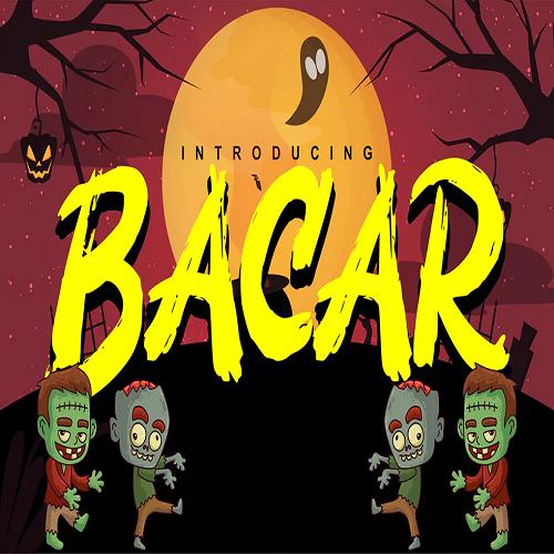 Bacar Hallowen Theme Font