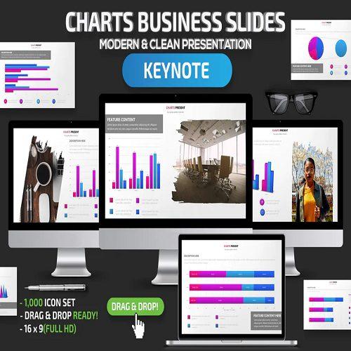 Charts Business Keynote Slides