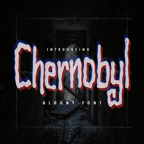 Chernobyl Gloomy Font