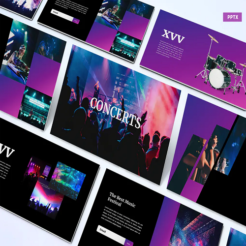 Concerts Powerpoint Template