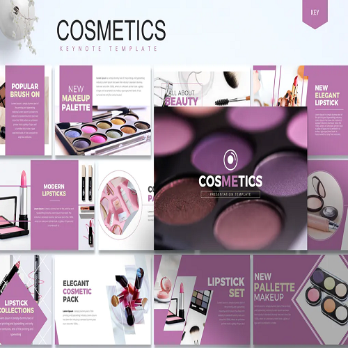 Cosmetics Keynote Template