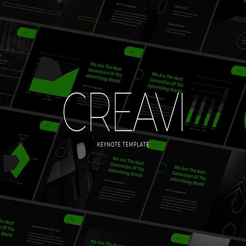 Creavi Tech Theme Keynote Template