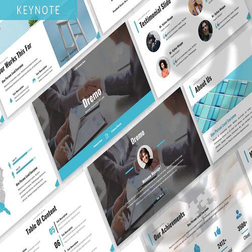 Dremo Business Keynote Template
