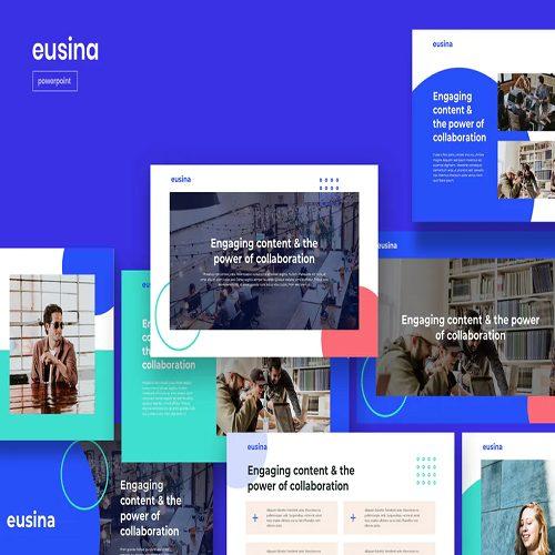 EUSIN Corporate Theme Powerpoint Template