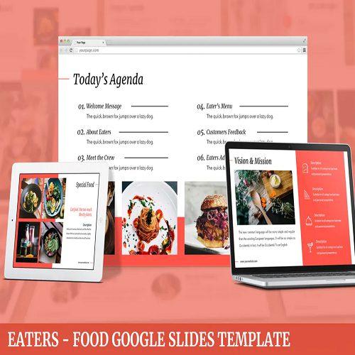 Eaters Food Google Slides Template