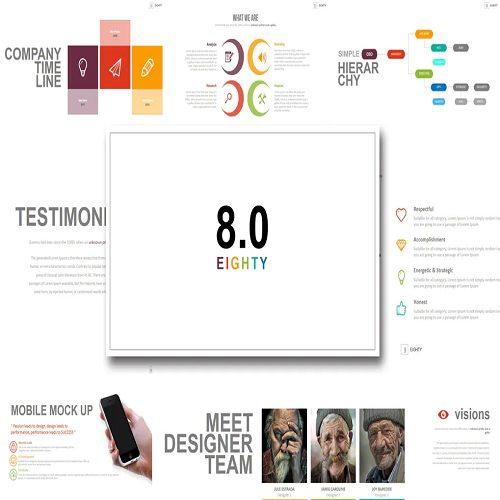 Eighty Powerpoint Template