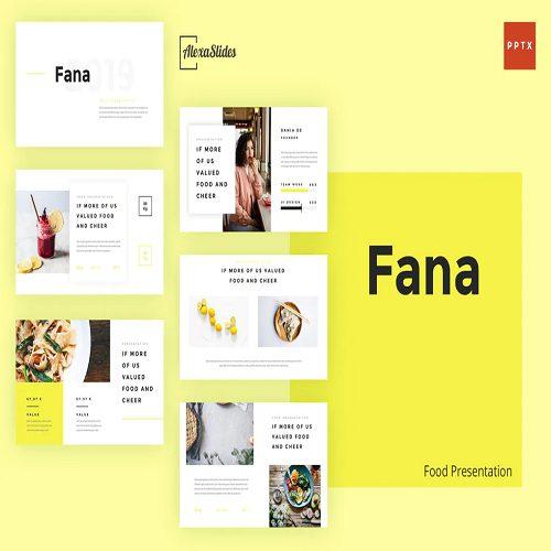 Fana Food Powerpoint Template