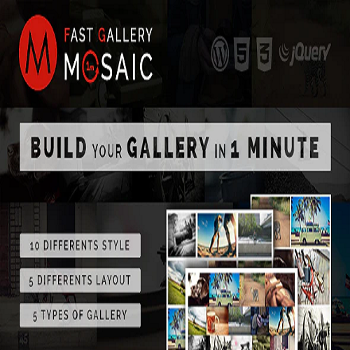Fast Gallery Mosaic Wordpress Plugin