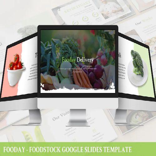 Fooday Foodstock Google Slides Template