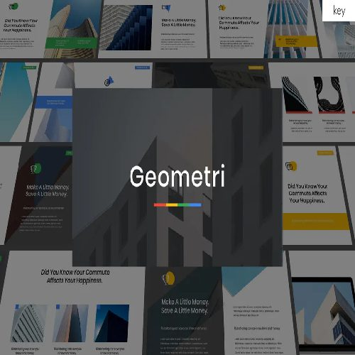 Geometry Multipurpose Keynote Template