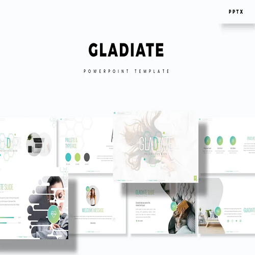 Gladiate Powerpoint Template