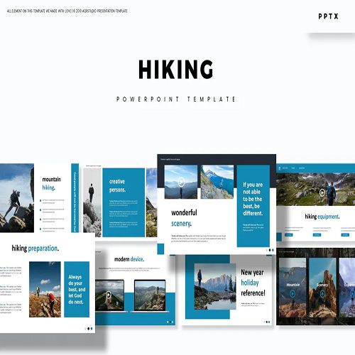 Hiking Powerpoint Template