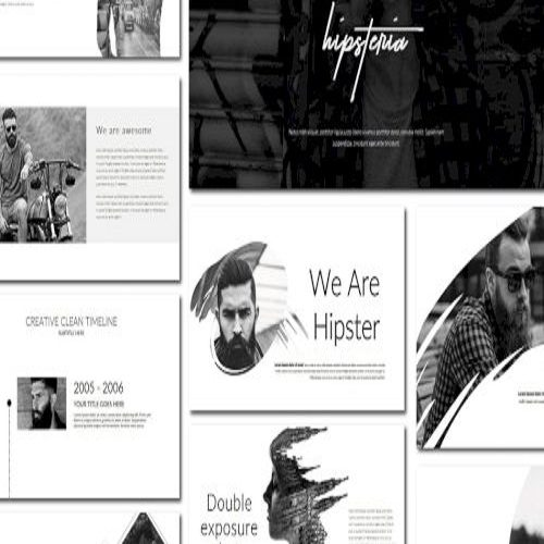 Hipsteria Powerpoint Template