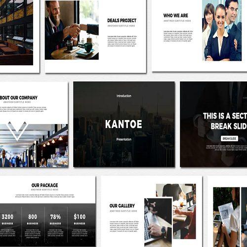 Kantoe Powerpoint Templates