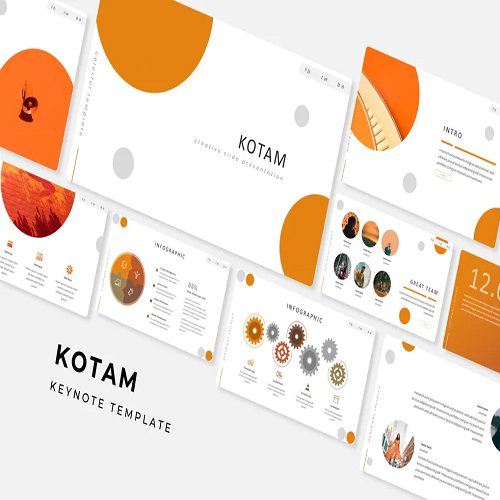Kotam Keynote Template