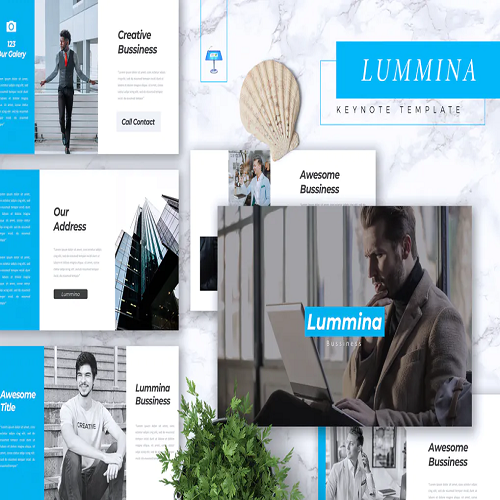 LUMMINA Business Keynote Template