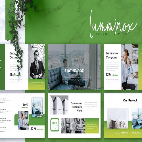 LUMMINOX Business Keynote Template