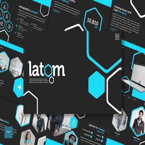 Latom Keynote Template