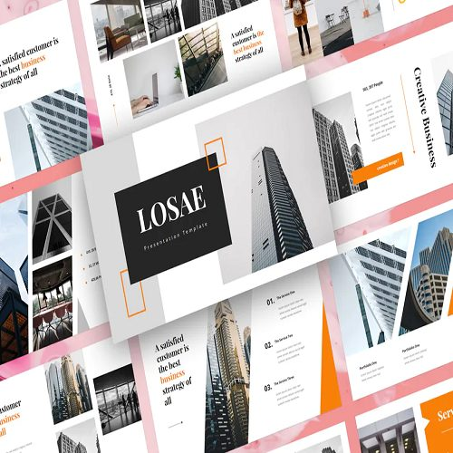 Losae Business PowerPoint Template