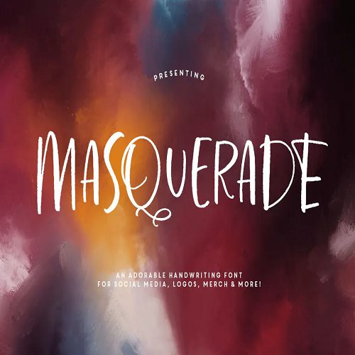 Masquerade Typeface