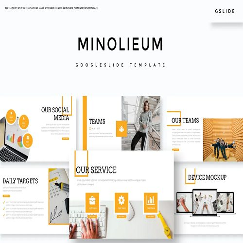Minolieum Google Slide Template