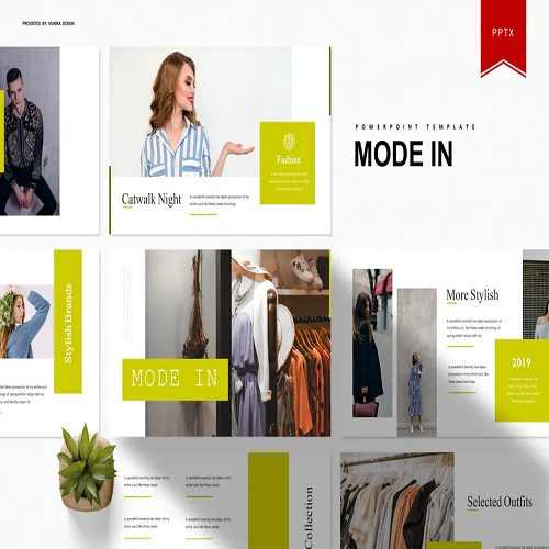 Mode In Powerpoint Template
