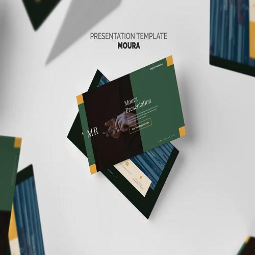 Moura Digital Marketing Pitch Deck Keynote