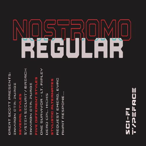 Nostromo Regular