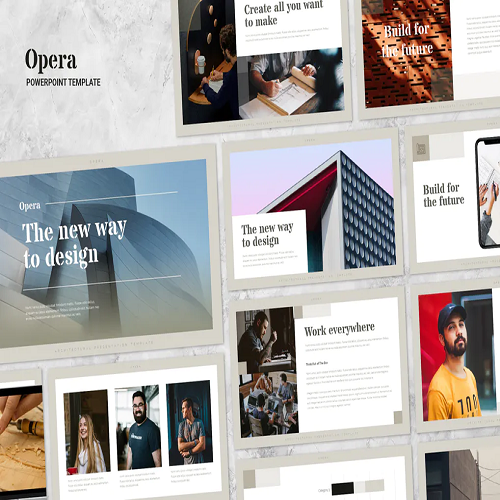Opera Elegant Powepoint Template