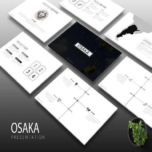 Osaka Keynote Template
