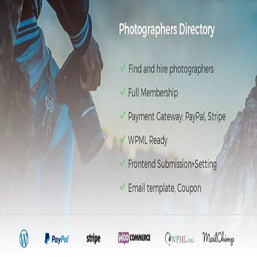 Photographer Directory WordPress Plugin
