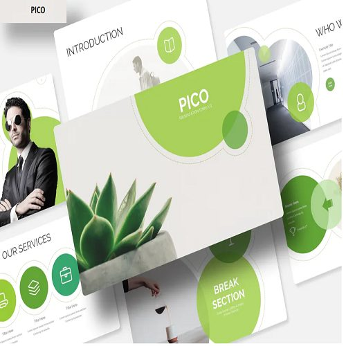 Pico Power Point Template