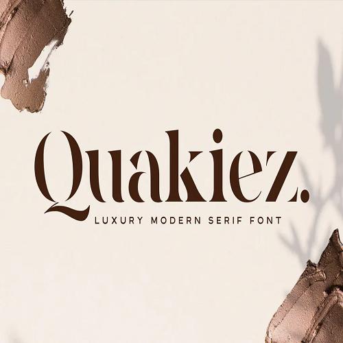 Quakiez Luxury Modern Serif