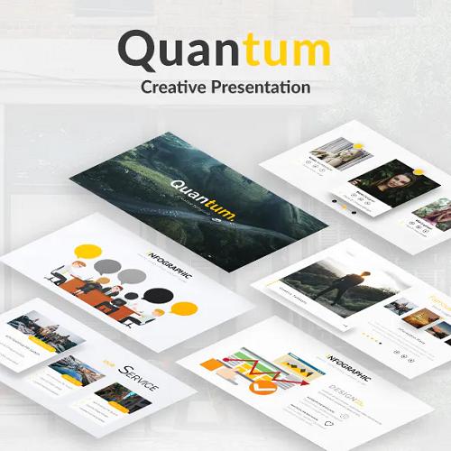 Quantum Creative Google Slide Template