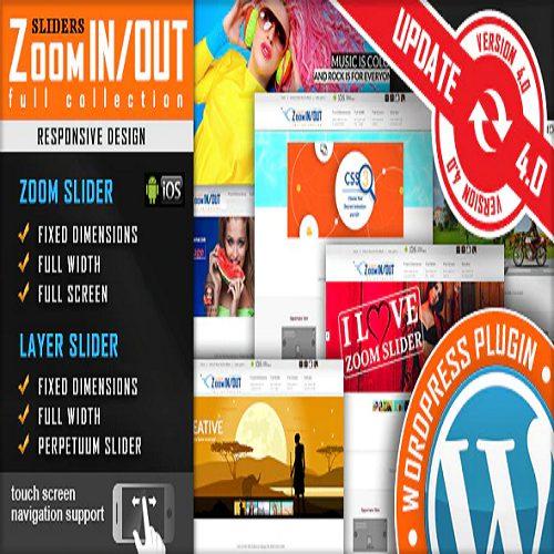 Responsive Zoom In Out Slider WordPress Plugin