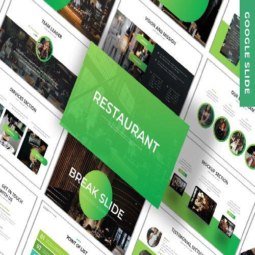 Restaurant Business Google Slide Template