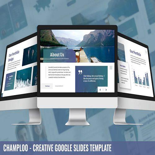 Sakana Ocean Google Slides Template