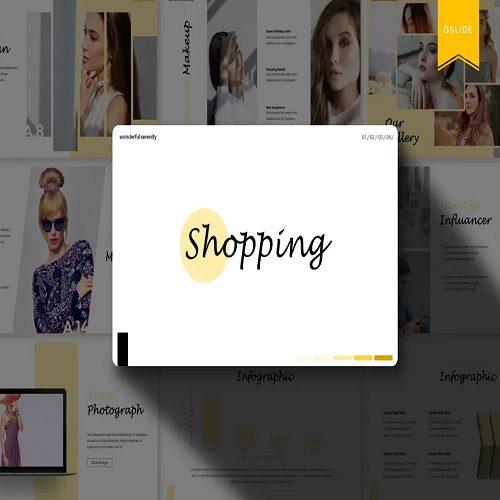 Shopping Google Slides Template
