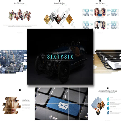 Sixty Six Powerpoint Template