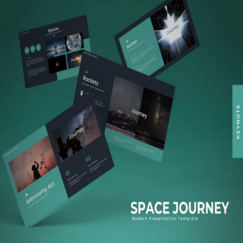 Space Journey Powerpoint Template
