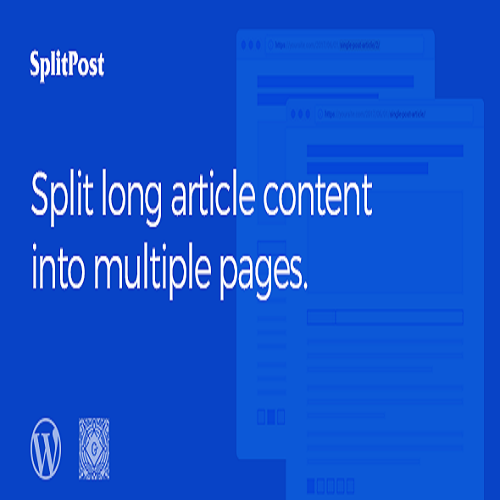 Split Post WordPress Post Ajax Pagination Plugin